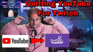 FouseyTUBE explains why he is quitting YouTube to start Streaming on Twitch Full-Time