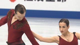 Ksenia Stolbova Fedor Klimov - World figure skating Championships 2014 ( Saytam,Japan) SP