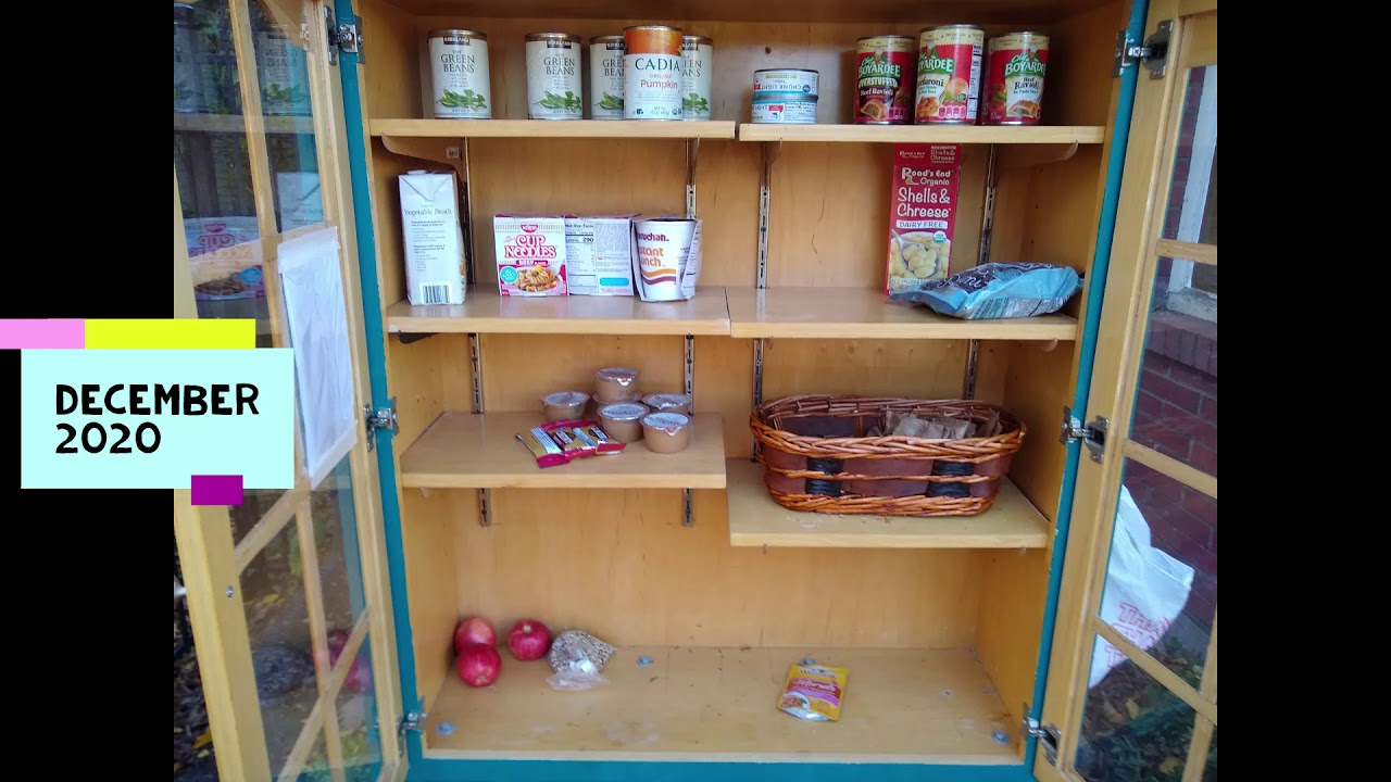 Little Free Pantry - Food Needed