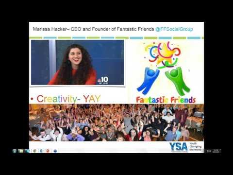 Youth Service Fundamentals Webinar -- Creativity