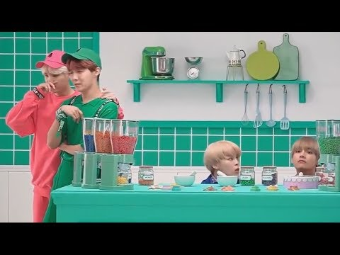 BTS (氚╉儎靻岆厔雼�) try not to laugh challenge