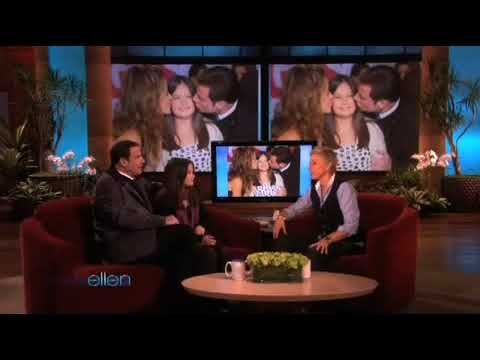 John Travolta's Daughter on Ellen for her first ever