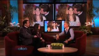 John Travolta's Daughter on Ellen for her first ever interview
