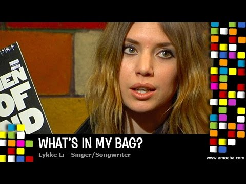 Lykke Li - What's In My Bag?