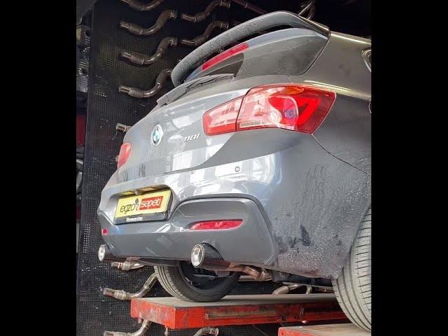 BMW F20 1.18 SON İPTAL EGZOZ SESİ
