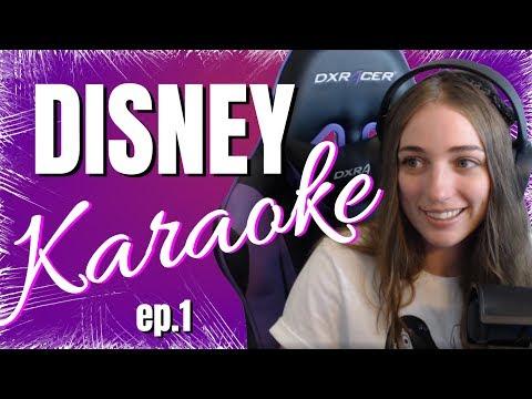 Disney Karaoke Ep1 LadyKindly Twitch
