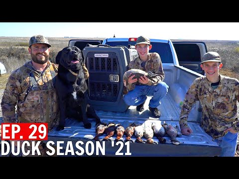 Duck Hunting – My Daughters FIRST Hunt & FINAL Day of Jr Duck Hunt