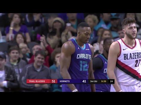 3rd Quarter, One Box Video: Charlotte Hornets vs. Portland Trail Blazers