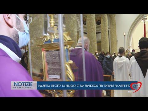 Peregrinatio reliquia del mantello di San Francesco d'Assisi