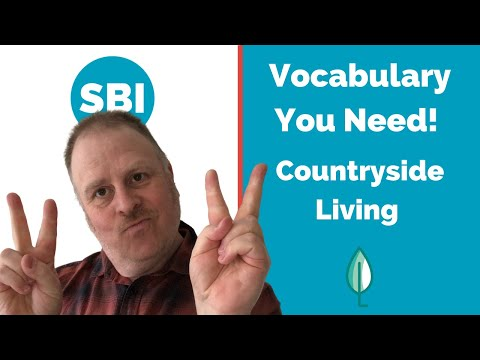 The Countryside • IELTS Speaking Band 9 Vocabulary