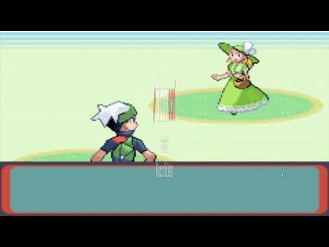 Pokemon Esmeralda só com grama #3 - Batalhando ate sair da floresta