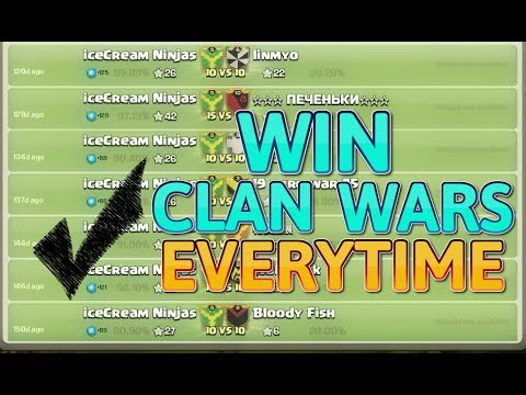(Hindi) Clash Of Clans 100% REAL Tips & Tricks To Win Clan Wars