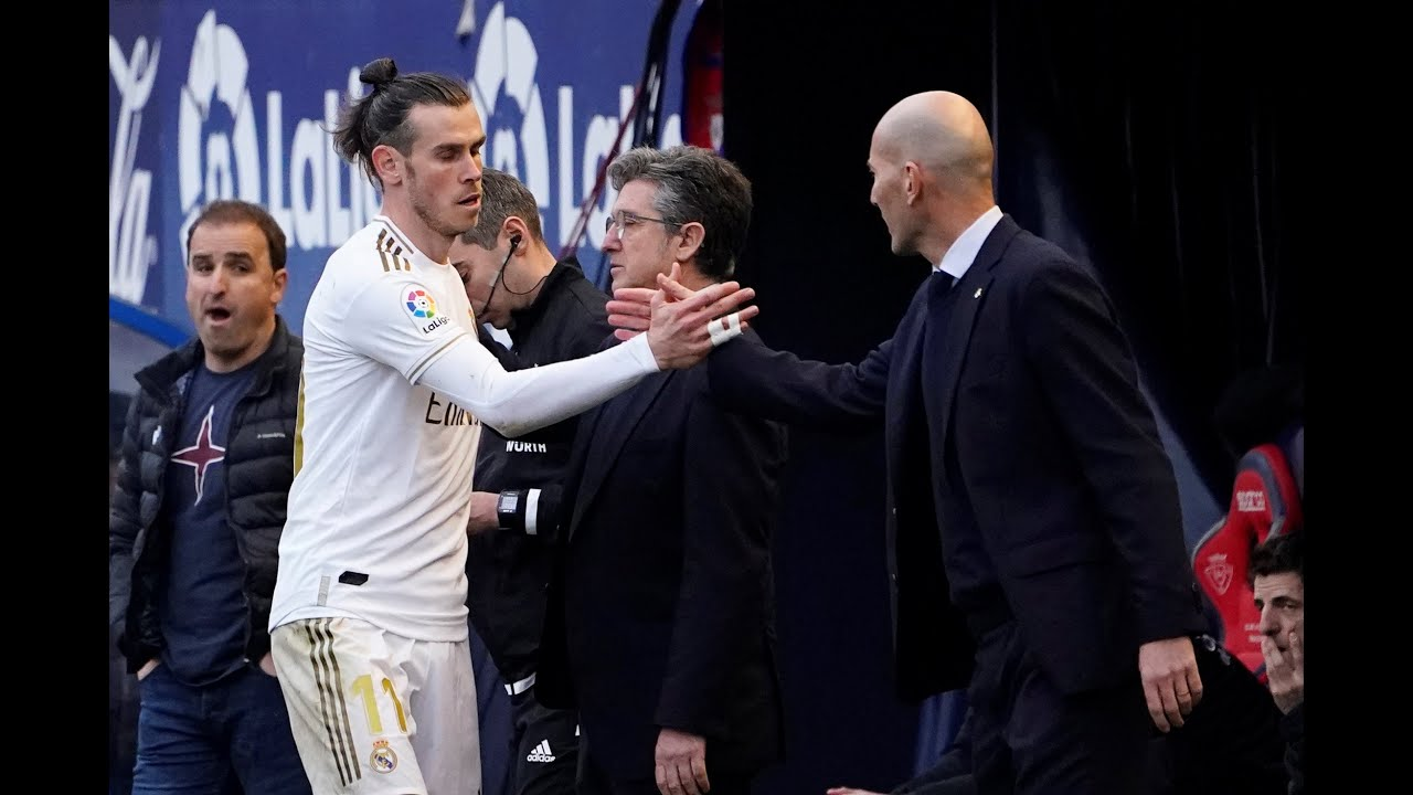 """Zidane: """"Bale ha pedido no jugar contra el Manchester City"""""""
