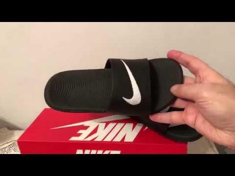68ba4bd50331 Nike Kawa Slide Sandals - YouTube
