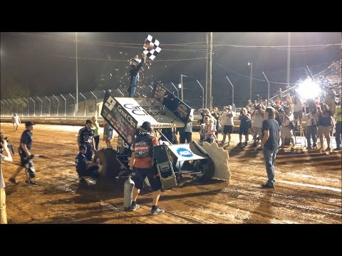 Williams Grove Speedway 7.22.16 - dirt track racing video image