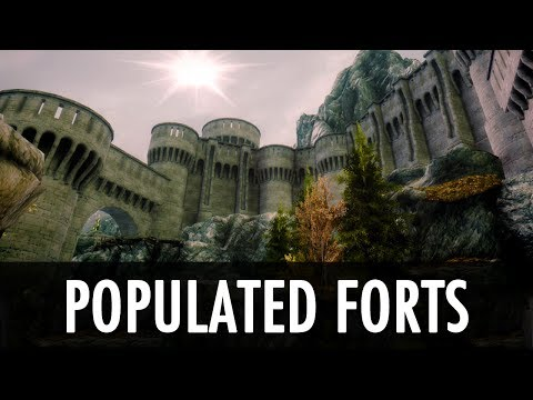 Skyrim Mod: Populated Forts Towers Places