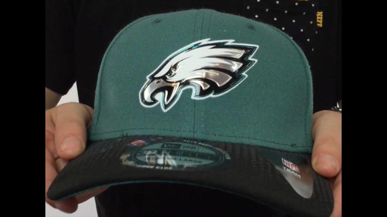 Eagles  2015 NFL DRAFT FLEX  Hat by New Era - YouTube aa70ff5579a