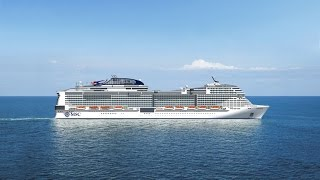 This is the live of the exclusive MSC Meraviglia Christening event ...