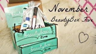 Beauty Box Five: November 2012 Review