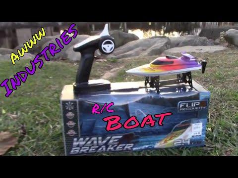 R/C Boat - Wave Breaker R/C - Awww Industries