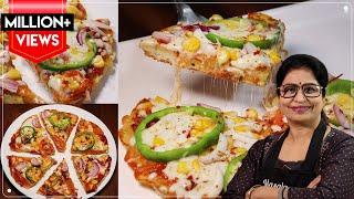 5 Min Pizza Recipe  बन ओवन बन चज़ क भ पज़ज़ बनग बलकल बजर जस तव पर  Instant Pizza
