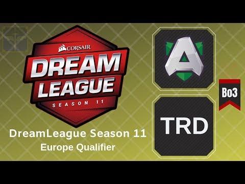 Alliance vs TRD / Bo3 / DreamLeague Season 11 Europe Qualifier thumbnail