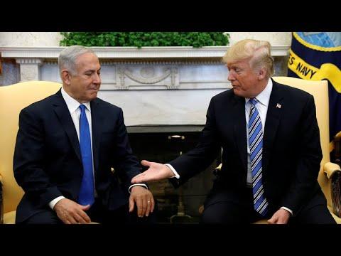 Netanyahu visits White House amid Israeli corruption scandal
