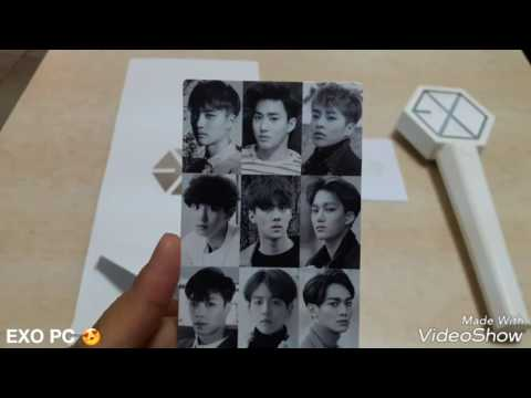 UNBOXING EXO OFFICIAL LIGHT STICK VERSION 2