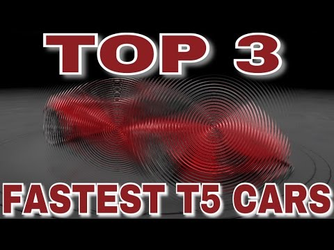 TOP 3 FASTEST T5 CARS IN LIVE RACES  CSR RACING 2  YouTube