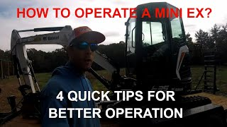 How to Operate a Mini Excavator? 4 Quick Tips that Nobody Told Me