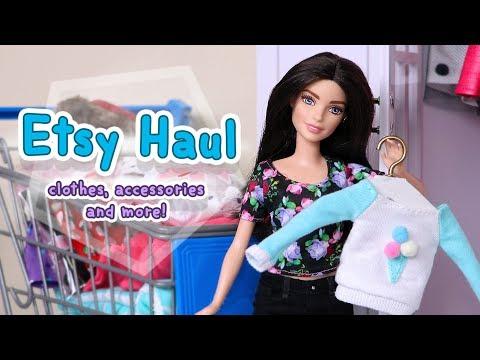 Barbie Etsy Haul: Clothes, Accessories & More! #1
