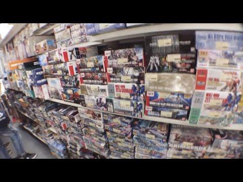 Gunpla Shopping & Japan Trip