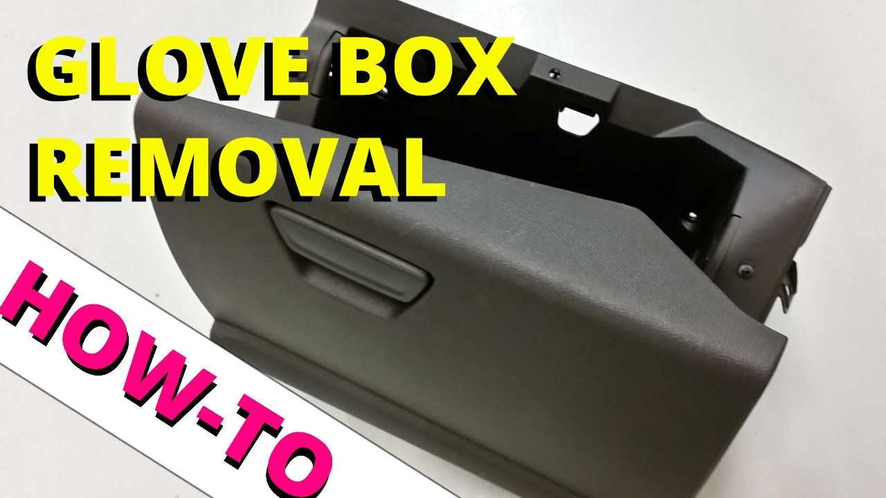 how to easily remove your glove box  2013 ford escape