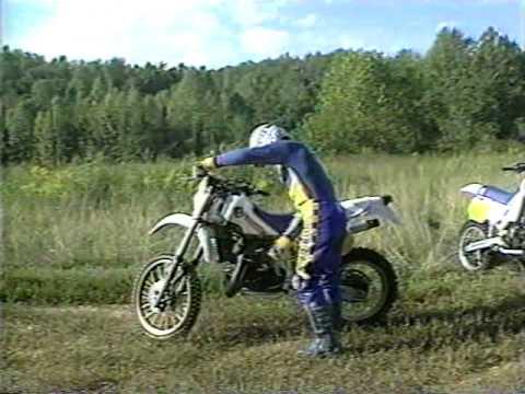 Husqvarna Motorcycle Promo Richard Burleson