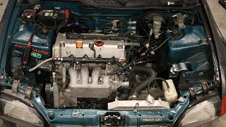 HOW TO K SWAP A CIVIC IN UNDER 10 HOURS