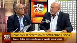 Debate Carlos Bruce y Julio Rosas sobre la Unión Civil - Canal N 03 de Marzo de 2015