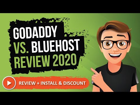 GoDaddy Vs Bluehost Review (2019)
