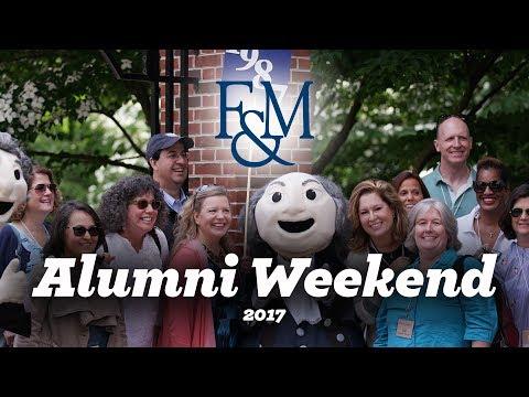 F&M Alumni Weekend 2017