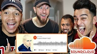 REACTING TO OUR SUBSCRIBERS SOUNDCLOUDS!! (FOUND THE NEXT EMINEM)