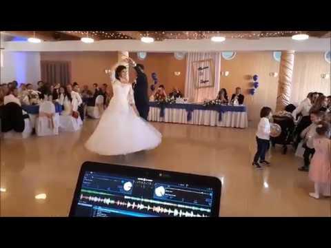 DJ na svadbu Ján Šiller | Maťka♥Števko | Wedding Slovakia | Ženích = pán Tanečník!
