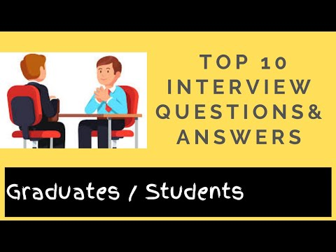Top 10 Interview Questions and Answers (2019)