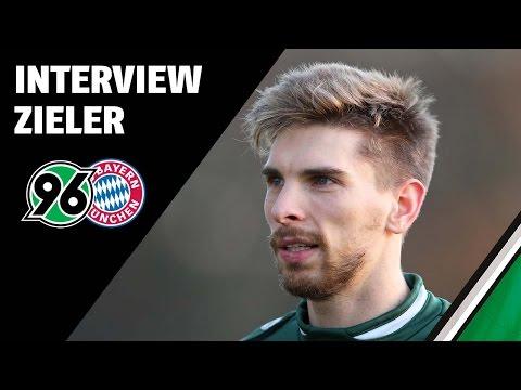 Interview Ron-Robert Zieler   Hannover 96 - FC Bayern München