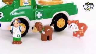 Помогаем животным! Ветеринарный автомобиль Перси - WOW TOYS Детские игрушки Kids toys