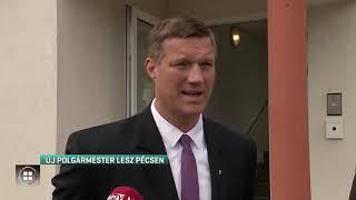 Új polgármester irányítja hétfőtől Pécset 19-10-08