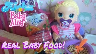 Video Baby Alive Snacking Lilly Eats Real Baby Food...Diaper Explosion and Bath🍼💩🛁😅 download MP3, 3GP, MP4, WEBM, AVI, FLV Juni 2018