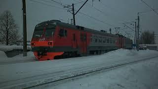 Электропоезд ЭД4М-1015/1017