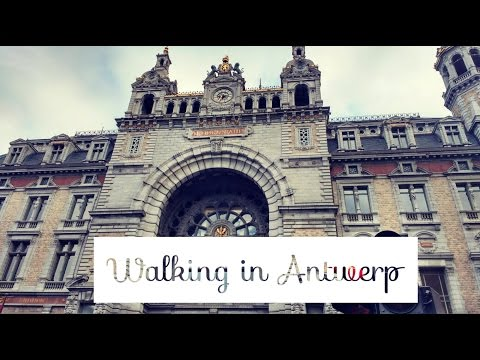 My Walk Tour in Antwerp- explore streets of Antwerp, Belgium