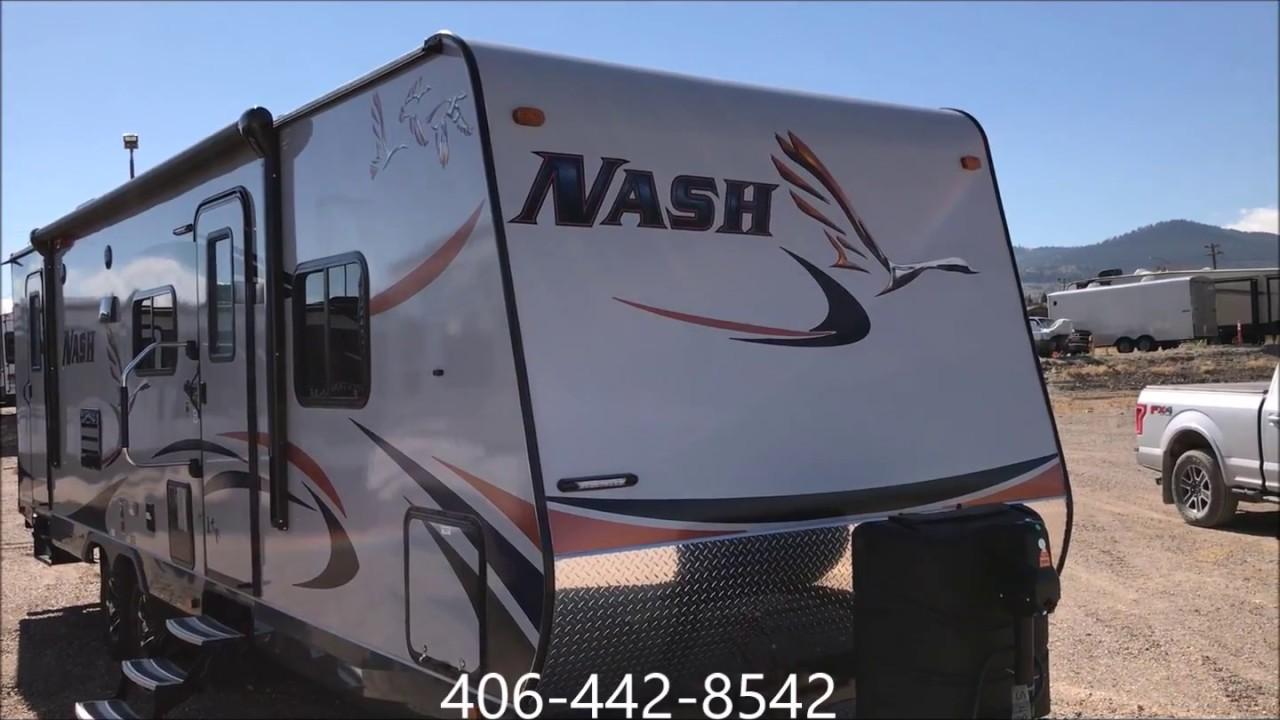2018 Nash 29S 4 Season Bunk Bed Travel Trailer At DD RV Center LLC