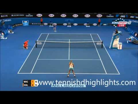 Simona Halep vs Yanina Wickmayer || Highlights || Australian Open 2015 R4