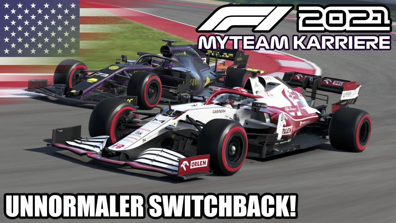 F1 2021 My Team Karriere #17: Unnormaler Switchback!